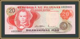 Philippines 20 Pesos 1970 P-150 (150a) UNC - Philippines
