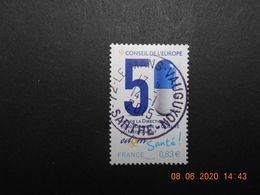 FRANCE 2014   YT N° 159  CONSEIL DE L'EUROPE    Timbre  Neuf   Cachet   ROND - Used Stamps