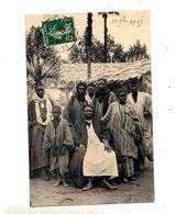 Carte Village Senegal  Cachet ? Sarthe ? Sur Semeuse - Senegal