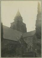 Eglise Et Bras De Mer à Situer En Normandie . Environs Du Havre ? 4 Vues Circa 1910 . - Places