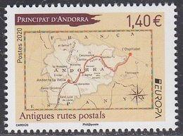 2020 Andorre Français French Andorra ** - 2019