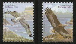 2009Portugal3451-3452Birds - Eagles & Birds Of Prey
