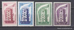 Europa 1956, 4 Val (MNH, **) - 1956