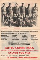 TRACT #73 GUERRE ALGERIE PROPAGANDE ARMEE FRANCAISE - Documents
