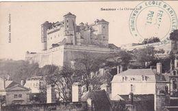 49-SAUMUR- LE CHATEAU FORT-ANIMEE - Saumur