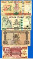 Ouganda  9  Billets - Uganda