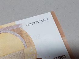 "50 Euro Spain - ""VH"" + ""V013"" - Sohier = ""TESTNOTE"" Cat.v. 150 Euro (100% UNC!!!) - 50 Euro"