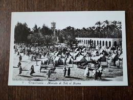 L9/42 LYBIE ( LIBIA ) . Tripolitania . Mercato Di Suk El Giuma - Libya