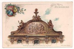 Gruss Aus Nürnberg - Giebelgruppe Des Kaufhauses Gg. Leykauf - Nuernberg