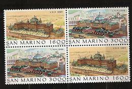 Saint-Marin 1988 N° 1196 / 7 X 2 ** Philatélie, La Haye, Pays-Bas, Station Balnéaire, Pêche, Kurhaus, Hôtel Scheveningen - San Marino