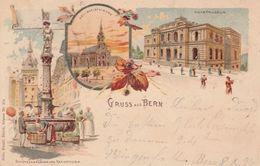 Bern Gruss Aus Bern Kunzli No374 - BE Berne