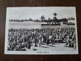 L9/43 LYBIE ( LIBIA ) . SLITEN. MERCATO - Libya