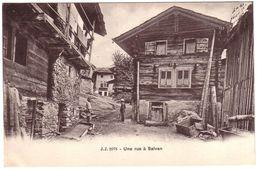 SALVAN - Une Rue - VS Valais