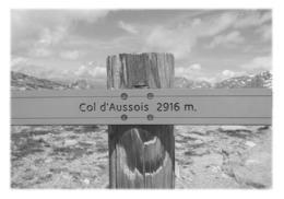 AUSSOIS - Panneau Col D'Aussois - Altri Comuni