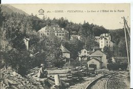 CORSE - VIZZAVONA - La Gare Et L'hôtel De La Forêt - France