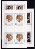 Tschechische Republik, KB 274/76** (K 6209) - Blocks & Sheetlets