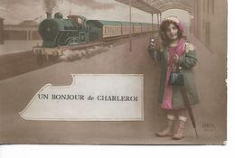 Un Bonjour De CHARLEROI - Train - Charleroi