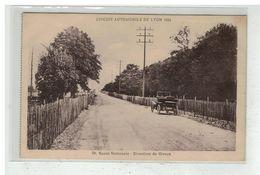 69 LYON #12203 CIRCUIT AUTOMOBILE 1924 ROUTE NATIONALE DIRECTION GIVORS N° 28 - Lyon
