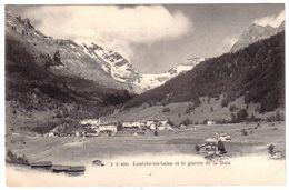 LOUËCHE LES BAINS - Le Glacier De La Dala - VS Valais