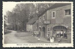 +++ CPA - BELVAUX SUR LESSE - Rochefort - Près Des Grottes De Han - Publicité Pour Hôtel Du Vieux Moulin - Café  // - Rochefort