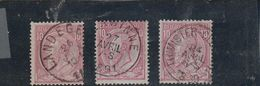 46x3------------------855 - 1884-1891 Leopold II