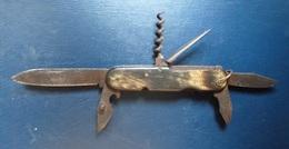 Couteau  - 6 éléments De Poche - Coltelli