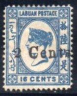 LABUAN 1885 * - Grande-Bretagne (ex-colonies & Protectorats)