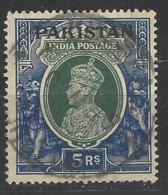 Pakistan - 1947 - Usato/used - Overprint - Mi N. 16 - Pakistan