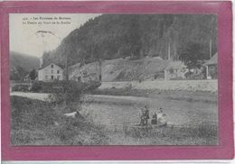 25. - LES ENVIRONS DE MORTEAU  - Le Doubs Au Pont De La Roche  ( Barque  ) - France