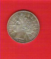 Monnaie Française En Argent 100 Francs Fraternité 1988 - N. 100 Francos