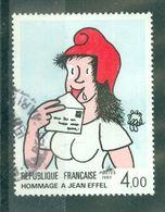 """FRANCE - N° 2291 Oblitéré - Série """"Création Philatélique"""". Hommage à Jean Effel. - Gebruikt"""