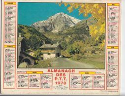 Almanach Des P.T.T. 1978. - Calendars