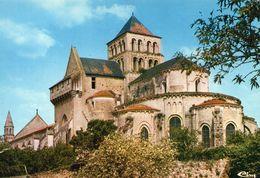 Saint-Jouin-de-Marnes Belle Vue De L'Eglise Abbatiale L'Abside - Saint Jouin De Marnes