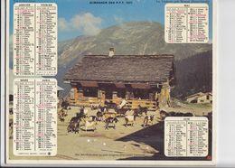 Almanach Des P.T.T. 1977. - Calendars