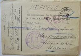 Rußland Sibirien Tobolsk, Kriegsgefangenenpost POW Mail 1917 (29862) - Weltkrieg 1914-18