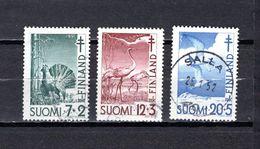 Finlandia  1951  .-  Y&T  Nº    379/381 - Gebraucht