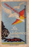 ** GENEVE.- LA RESIDENCE.- ** - Publicidad