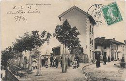 Cours :place St Antoine - Cours-la-Ville