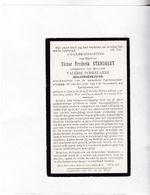 OUD-BURGEMEESTER KAPRIJKE  V.STANDAERT °1858  +1928 (V.DOBBELAERE) - Devotion Images