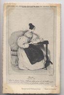 Histoire Du Costume - Époque Louis Philippe (1835) - Chez Soi - Gravure - Dessin De Gavarni - Fashion