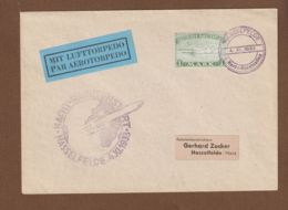 Space  Rocketmail  1933 Duitsland  Hasselfelde Germany Herta Lufttorpedo Cover To Gerhard Zucker - Lettres & Documents