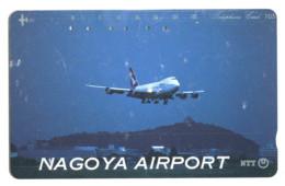 Télécarte NTT : Aéroport De Nagoya - Avions