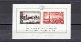 Suisse - Année 1942 - Neuf**  - Fête Nationale - N°Zumstein 19** - Bloc 2è Millénaire De Genève ; Monument Des Soldats - Blocs & Feuillets