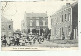 Blegny  -  Vue Maison Communale -  1905 Sterstempel - Blegny