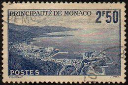 Monaco Obl. N°  179 A - Vue Générale Sur La Pricipauté - 2f50 Bleu - Oblitérés