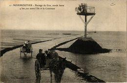 CPA Ile De Noirmoutier - Passage Du Goa - Marée Basse (637256) - Ile De Noirmoutier