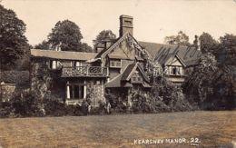 KEARSNEY (Kent) Kearsney Manor - REAL PHOTO - England