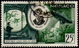 Monaco Obl. N°  435 - Jules Verne. Vingt Mille Lieues Sous Les Mers - Monaco