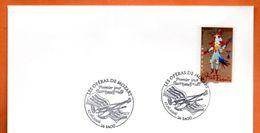 MAURY N° 3907 LA FLUTE ENCHANTEE 26 SAOU   Lettre Entière N° RS 612 - 1961-....