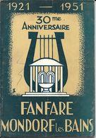 Mondorf 30 Ans  Fanfare 1951 - History
